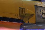 Eckiger Luftansaugstutzen der Bf-109-Emil-Baureihe