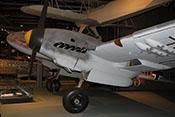 Ansicht der Messerschmitt Bf 110 F-2 von links