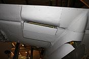 Kühlstoffkühler mit Verkleidung von hinten unten betrachtet