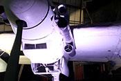 Flammvernichter und Schmierstoffkühler des rechten DB-605-Triebwerks