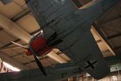 Untersicht des Focke-Wulf Fw 190 A-8 Nachbaus