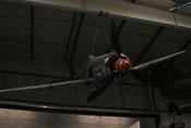 Frontansicht mit Propeller und Spinner