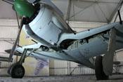 Fahrgestell der Focke-Wulf Fw 190 A-8 'Werk-Nr 730924'
