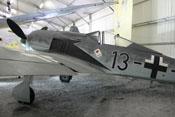Seitenansicht der Focke-Wulf FW 190 A-8 'Schwarze 13'