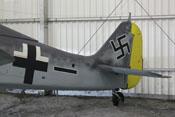 Heck der Focke-Wulf Fw 190 A-8
