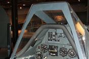 Windschutz und Hauptinstrumente der Focke-Wulf Fw 190