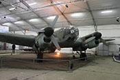 Ansicht der CASA C-2.111 D (Lizenzbau der Heinkel He 111 H-16) des Luft- und Raumfahrtmuseums in Paris/Le-Bourget