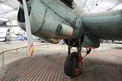 Triebwerk und Fahrwerk der CASA C-2.111 D
