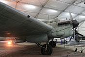 Triebwerk, Fahrwerk und Tragfläche der CASA C-2.111 D