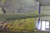 Rechtes Tragflächenaußenteil mit großem Querruder und den kleineren Querhilfsrudern