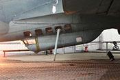 Bodenwanne (C-Stand) mit Fenstern zur Beobachtung und Verteidigung des unteren Luftraumes