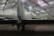 Heckansicht der Heinkel He 111