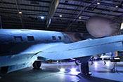 Rechte Tragflächenrückseite der Heinkel He 111 mit großer Landeklappe