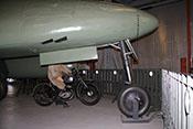 Bugrollwerk und Fahrwerkklappen der Messerschmitt Me 262