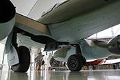 Rumpfboden und Rollwerk der Me 262 A-2a