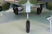 Bugrollwerk und Hauptfahrwerksbeine der Me 262