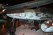 Rumpfspitze mit Bugfahrwerk des Me262-Trainers