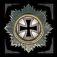 Deutsche Kreuz in Gold (Verleihung nach 20 Luftsiegen)