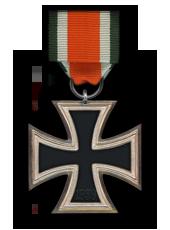 Eiserne Kreuz 2. Klasse (Verleihung nach fünf Luftsiegen)
