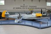Messerschmitt Bf 109 E - Ansicht von rechts