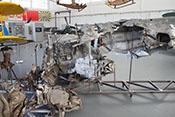 Oberes Rumpfteil 1 und sonstige Trümmerteile der Messerschmitt Bf 109 E-3a 'L-61'