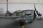 Messerschmitt Bf 109 G-14 der Air Fighter Academy im Hangar 10