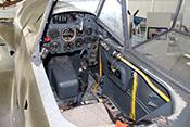 Blick in den Führerraum der Messerschmitt Bf 109 G-14
