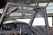 Vorderer Windschutzaufbau mit Panzerglasscheibe