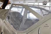 Vollsichthaube 'Erlahaube' mit dreiteiliger Kopfschutz-Panzerung 'Gallandpanzer'