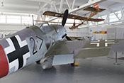 Rumpfwerk und Tragwerk der Bf 109