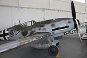 Ansicht der Messerschmitt Bf 109 G-14 '462707' von vorne rechts