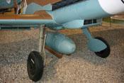 Abwerfbarer Zusatztank der deutschen Luftwaffe