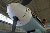 Vorderes Haubenteil der Bf-109-Triebwerkverkleidung