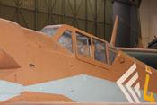Windschutzaufbau der Messerschmitt Bf 109 G-2
