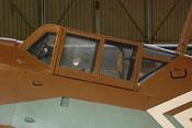 Vorderer, mittlerer und hinterer Windschutzaufbau der Messerschmitt Bf 109 G-2