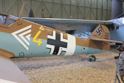 Rumpf und Heck der Bf 109