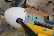 Spinner und vorderes Haubenteil der Bf 109 G-2