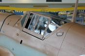 Windschutzaufbau mit blitzblanker Cockpitverglasung