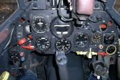 Instrumentenbrett der Messerschmitt Bf 109 G-2