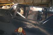Geschlossene Cockpithaube der Bf 109 G-2