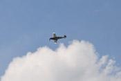 Vorbeiflug der Messerschmitt Bf 109 G-4 'rote 7' auf der ILA 2010 in Berlin