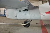 Spornrad und Höhenleitwerk der D-FWME