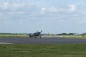Messerschmitt Bf 109 G-6 FM+BB beim Rollen zur Startbahn