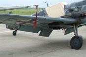 Rechte Tragfläche der Bf 109 G-6 FM+BB