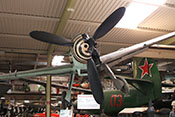 Frontalansicht der Messerschmitt Bf 109 G-6