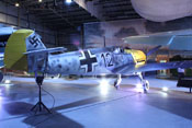 Messerschmitt Bf 109 E-4 'WNr 4101' des Royal Air Force Museums in London-Hendon