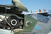 Messerschmitt Bf 109 G-10 'schwarze 2' der Messerschmitt-Stiftung auf der ILA 2008 in Berlin