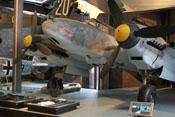 Zweimotoriger Zerstörer Messerschmitt Bf 110 F-2 im Technikmuseum in Berlin-Kreuzberg