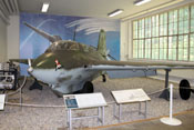 Raketenjäger Messerschmitt Me 163 'Komet' im Luftwaffenmuseum in Berlin-Gatow