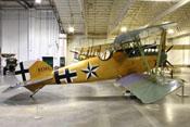 Albatros D.Va D.7343 Doppeldecker-Jagdflugzeug
